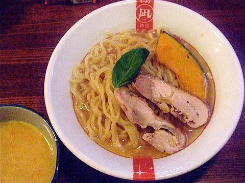 凪 日替わり麺 ベジW(野菜つけあつ)