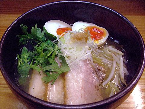しろ八 塩しろ八麺+春菊
