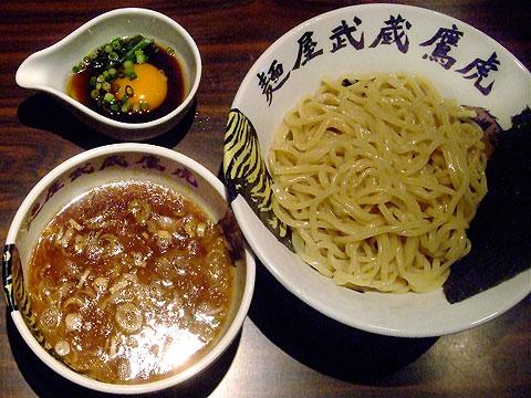 麺屋武蔵 鷹虎 つけ麺+つけ麺虎玉子