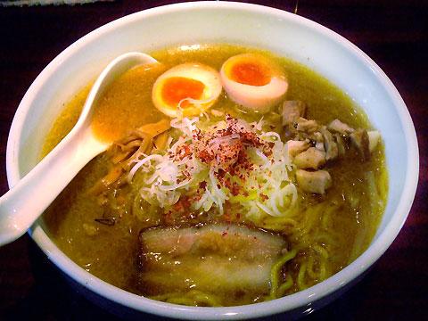 麺仙 葵賀佐 札幌味噌ら〜めん+名物玉子