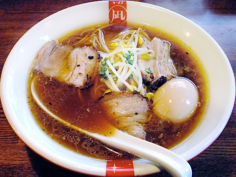 西尾中華そば/凪 中華そば+地鶏の味付玉子