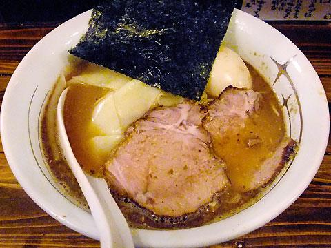 凪@新宿ゴールデン街 味玉塩煮干しラーメン