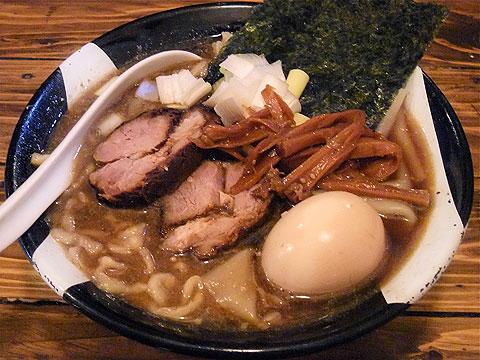 凪@新宿 味玉煮干ラーメン