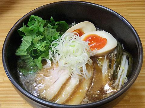 旬麺しろ八 こってりしろ八麺+わさび菜
