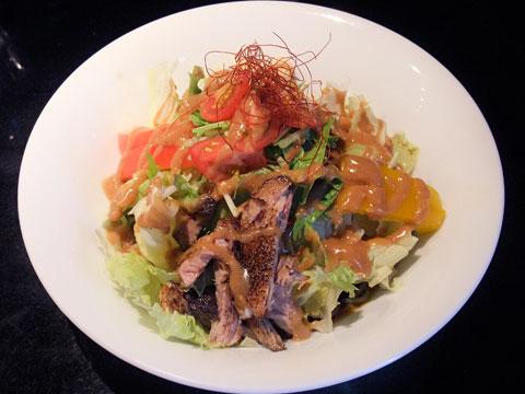 地雷源 夏野菜の涼麺