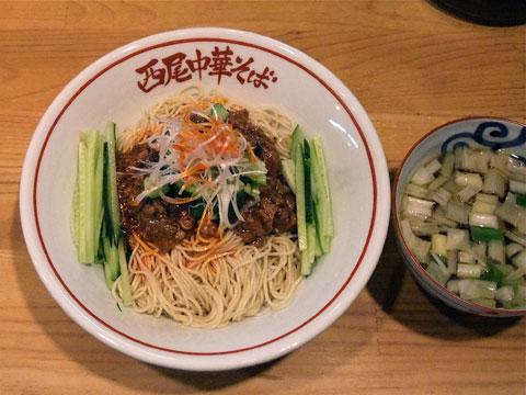 西尾中華そば ジャージャー麺