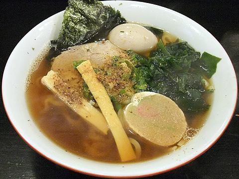 田中寛兵衛 中華そば 太麺+煮玉子