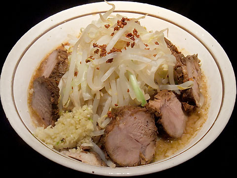 裏七Jimmy ィ夜の味噌ソバ+肉増し