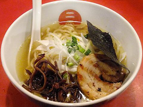麺屋武蔵 二天 煮干香る塩ら〜麺