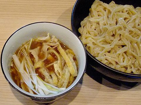 桃の木 つけ麺 昆布醤油味