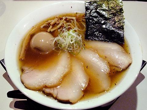 不如帰 煮豚そば(醤油)+味玉