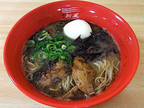 博多新風@東武池袋催事 新風麺(とろとろ半熟味玉入り)