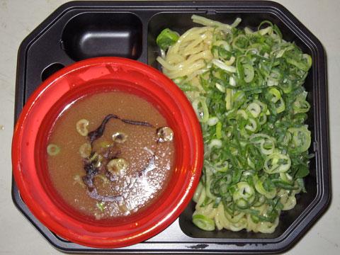 博多新風@大つけ麺博 濃厚とんこつ博多つけ麺+マー油ネギだく