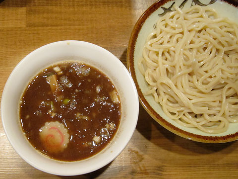 馳走麺 狸穴 濃厚つけ麺(並盛)