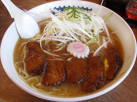 花の季 ネギトロチャーシュー麺