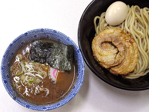 中華蕎麦 とみ田@西武池袋催事 つけそば+半熟味玉+大判炙りチャーシュー