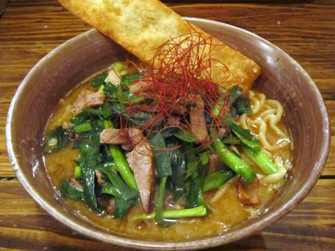 凪@新宿 春駒味噌と煮干のラーメン