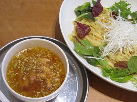 中村屋@WeST PArK CaFE ペペロン塩つけ麺