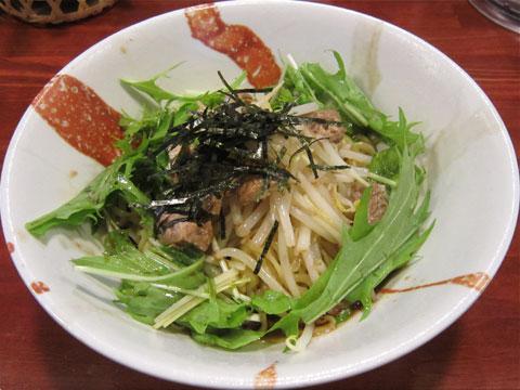 旬麺しろ八 醤油和え麺