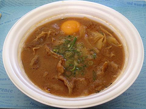 徳島岩田屋@東京ラーメンショー 岩田屋TOKYO 2011スペシャル+生卵+バラ肉