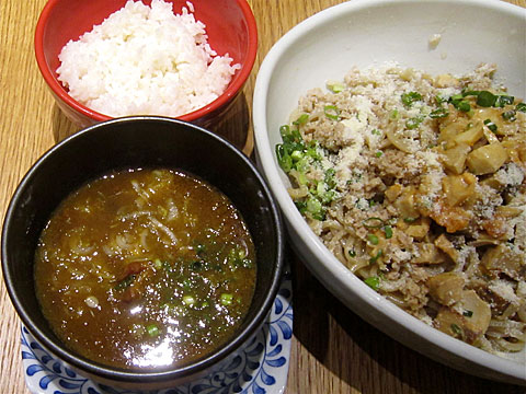 ラーメンゼロPLUS ベジフルカレーつけ麺 de タルタル和え麺
