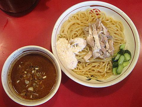 麺屋武蔵 二天 冷やし鶏つけ麺(アーモンドソース付き)