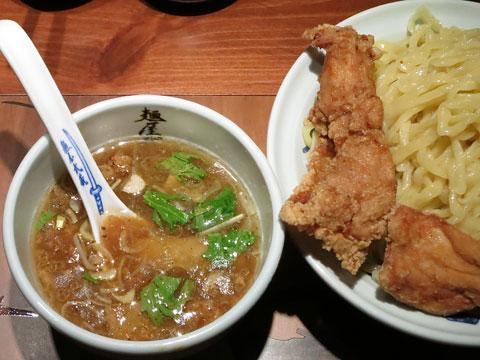 麺屋武蔵 二天 鶏天つけ麺
