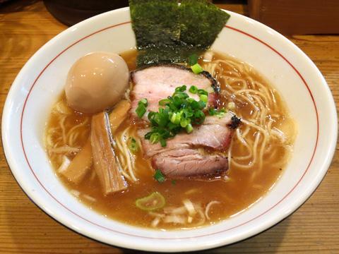 麺屋KABOちゃん しもふり中華そば+KABOちゃんの味玉