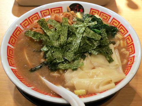 凪 Noodle BAR プレオープン 煮干ラーメン