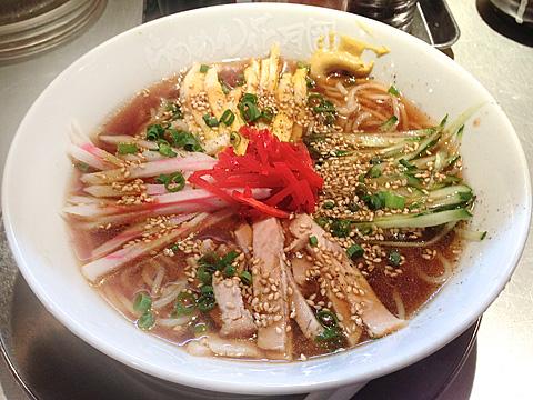 花月嵐 スープのある冷し中華 彩の食堂