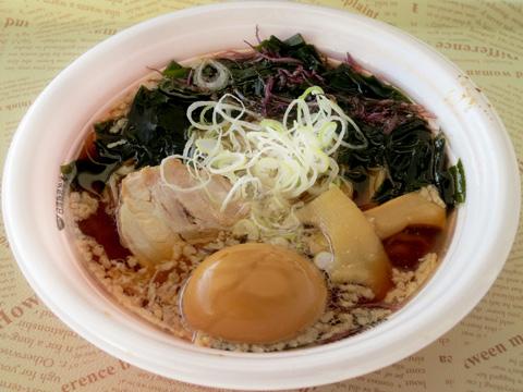 あおぞら食堂(凪×五福星) in 東京ラーメンショー 鮮魚のアラ炊き中華そば