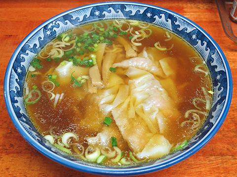 らぁめん青龍 ワンタンメン(醤油)