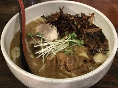 メン屋ちっきん ちっきん麺(醤油)+こがしねぎ