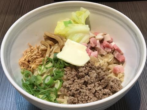 柳麺 呉田 神戸牛脂まぜSOBA