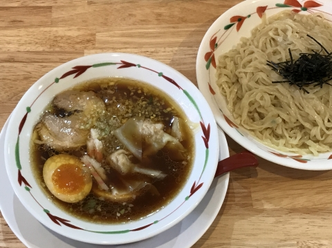 天神下大喜 特製つけめん(醤油味・手揉み太麺)