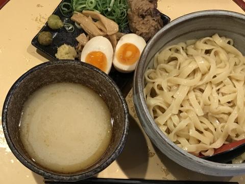 麺屋 音 別邸@北千住 冷やし塩生姜つけ麺