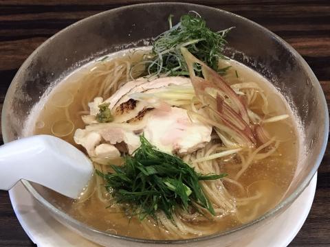 稲荷屋@稲荷町 夏麺 冷やし和風らーめん