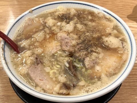 凪@川口 ふつうの煮干ラーメン 背脂