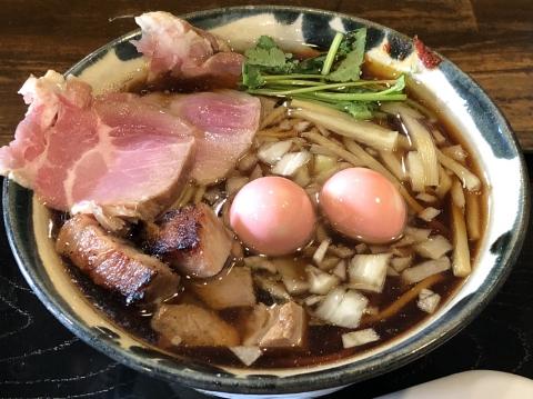 仮麺中 in ぬちぐすい@浦和 らーめん(全部入り)