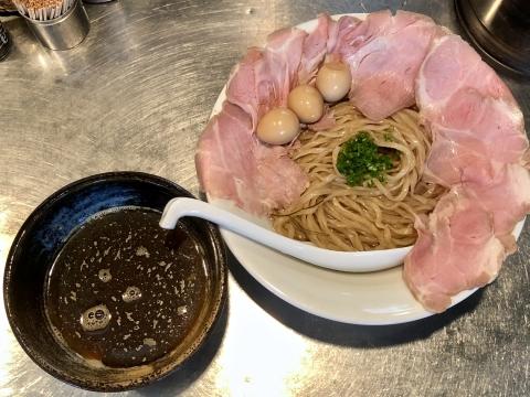 さんじ@稲荷町 淡麗煮干昆布水つけ麺