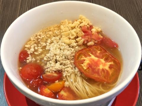 柳麺 呉田@北浦和 トマトと煮干しの冷やしSOBA