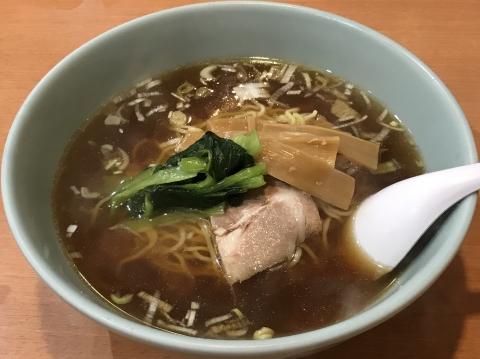 中華園@東武宇都宮 柳麺(ラーメン)