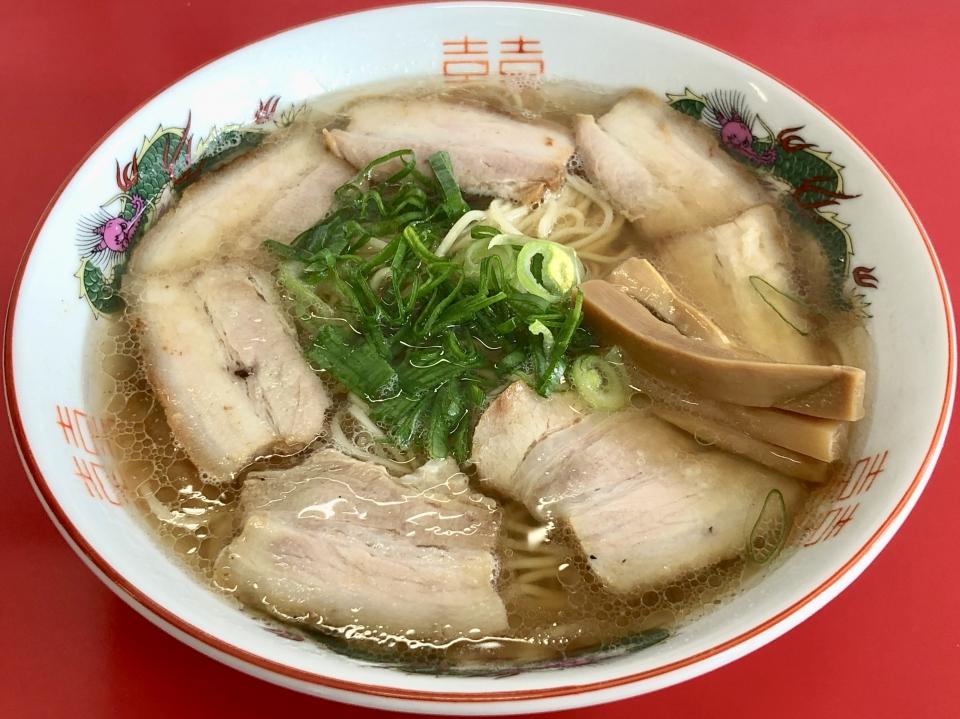 中華そば 竹千代@尾久 チャーシュー麺