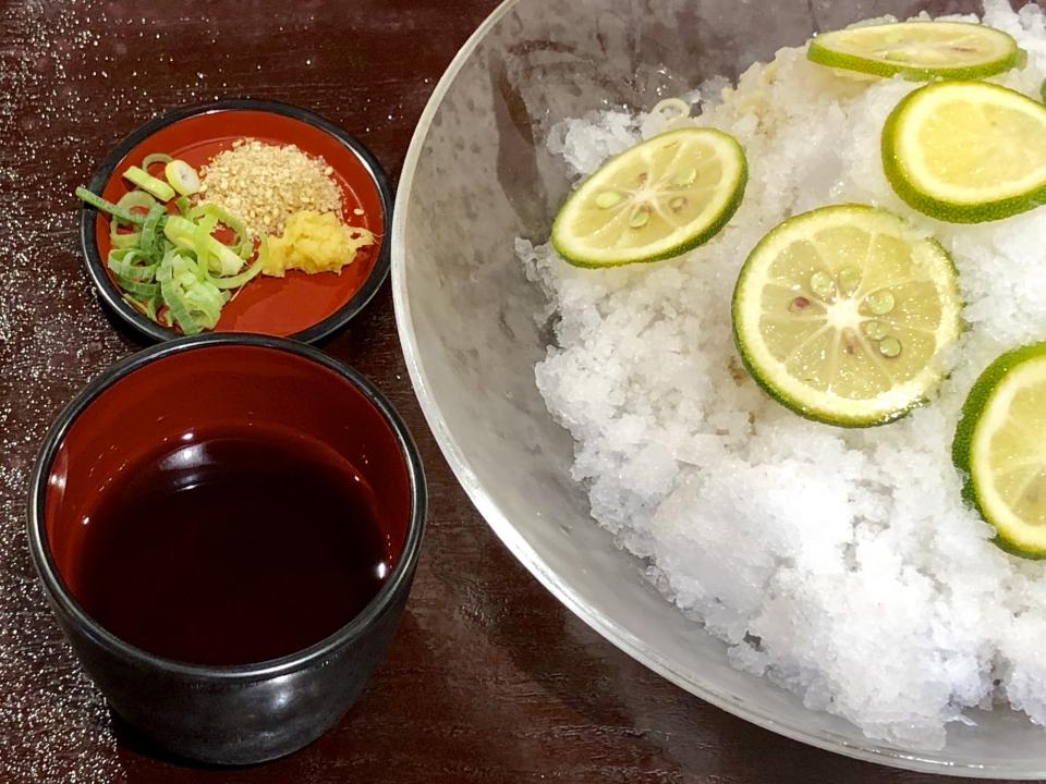 IPPUDO RAMEN EXPRESS@コクーンシティ 博多かぼす氷麺