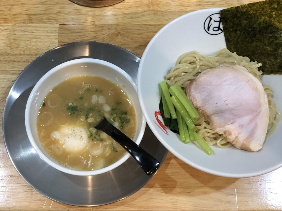 JAPANESE FISH NOODLE ウミノチカラ@仲御徒町 真鯛つけ麺(塩)