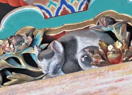 東照宮眠り猫