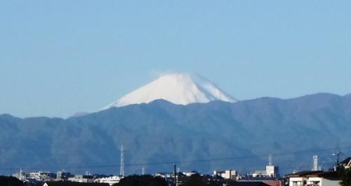 定番の富士山