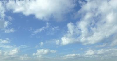 空を見上げた