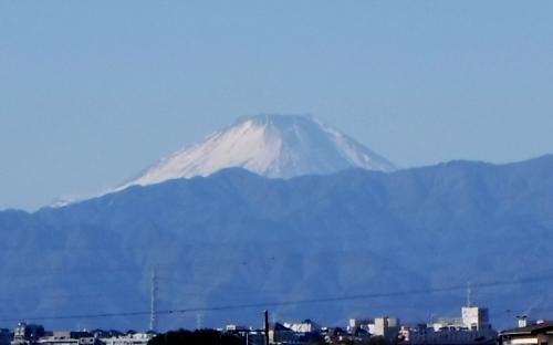 正月の富士