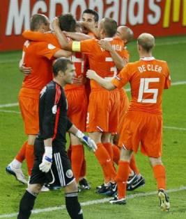 頑張れオランダ代表!